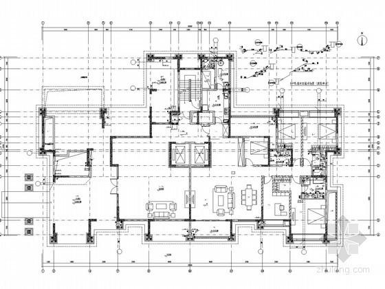 [四川]22万平高层住宅群及地下车库给排水消防施工图