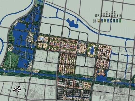 [济宁]城市水系及重点地段水域景观规划方案