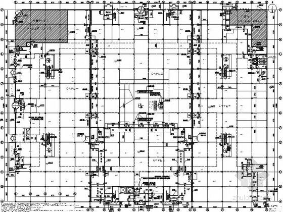 [银川]交通便利配套设施齐全大型家居建材主题购物中心施工图