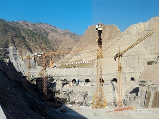 [云南]水电站进水口开挖支护工程施组设计