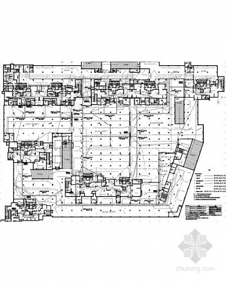 [安徽]24万综合住宅小区全套强弱电电气图168张(新火规 商业综合楼)