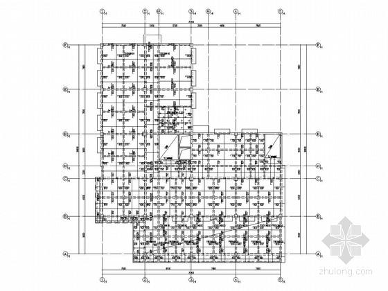 [成都]五层框架结构街道办事处结构施工图