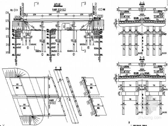 [黑龙江]4×13m预应力混凝土简支空心板桥施工图53张(桥面连续)