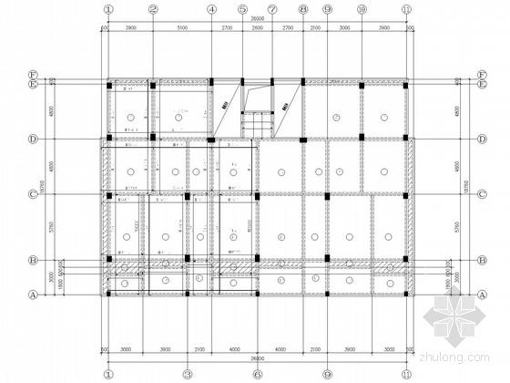 新农村街道办事处综合楼结构施工图