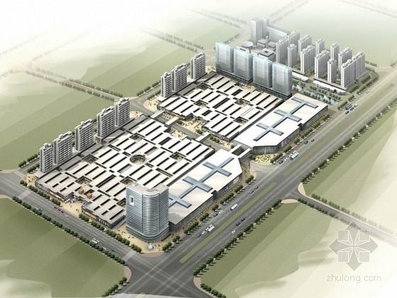 [江苏]大型博览城建筑设计方案文本(含CAD)