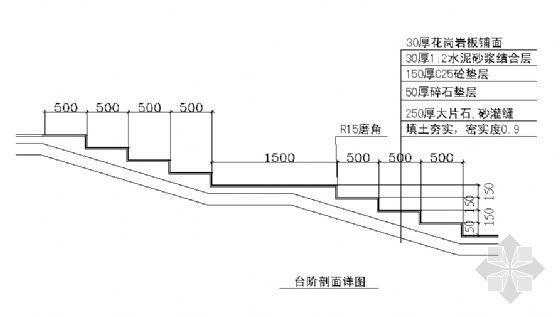 台阶剖面详图-4