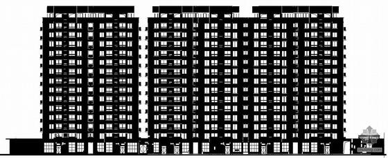 [宁波]某小区住宅楼群建筑结构水暖电施工图(多层、高层)