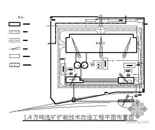 甘肃某磨浮厂房施工组织设计(鲁班奖 图文并茂)