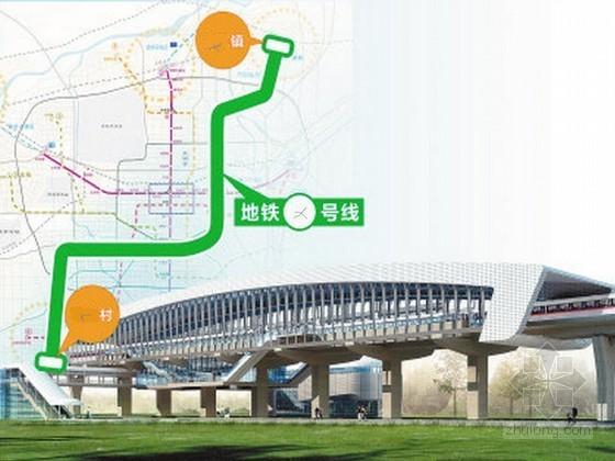 地铁工程土建实施性施工组织设计127页(含高架三层桥 隧道)