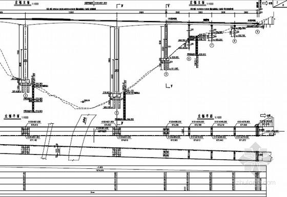 [湖北]主桥65+120+65m三向预应力连续刚构箱梁桥设计图189张(含30米T梁)