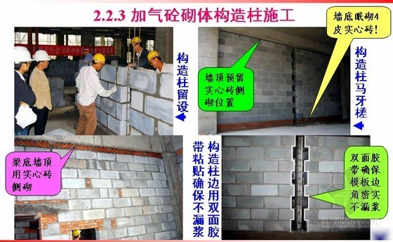 石砌体及砌块砌体施工(土木工程施工讲义第8讲)