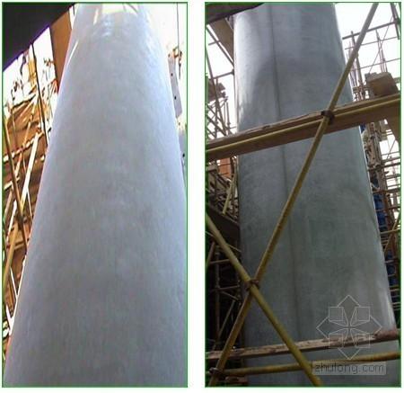 圆柱清水混凝土施工工法
