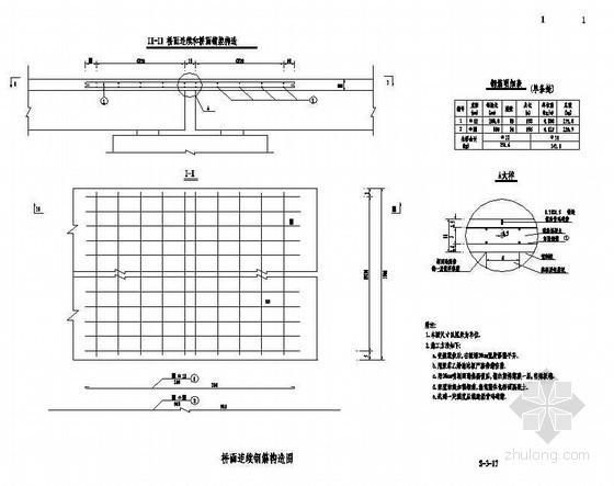 3×16m预应力简支空心板桥面连续钢筋构造节点详图设计