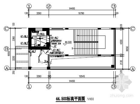 [湖南]综合枢纽厂房装饰工程电气施工图