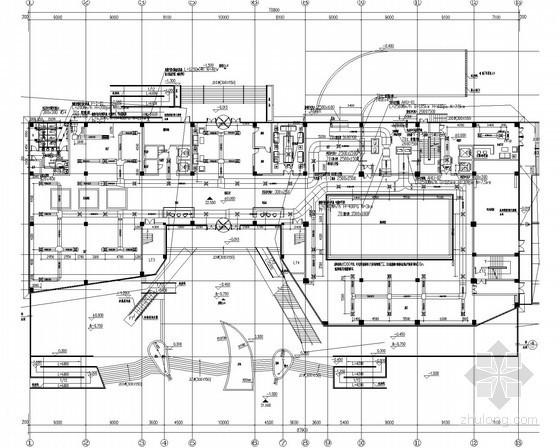 [广东]文体中心展览馆空调及防排烟系统设计施工图