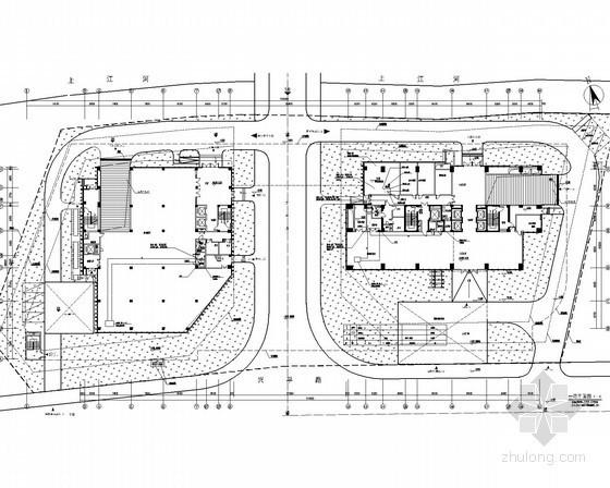 [浙江]一类高层研究院工程项目强弱电全套图纸90余张
