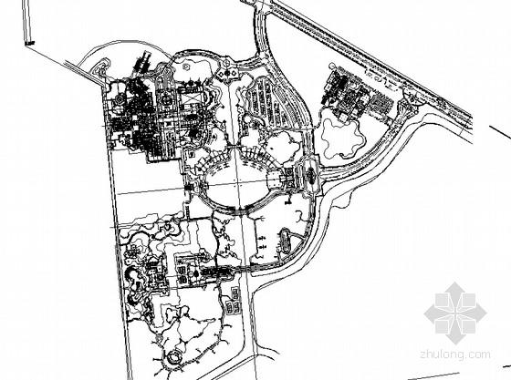 [珠海]海洋温泉旅游度假村园林景观工程施工图