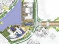 [成都]自然生态会所及入口景观大道景观设计方案