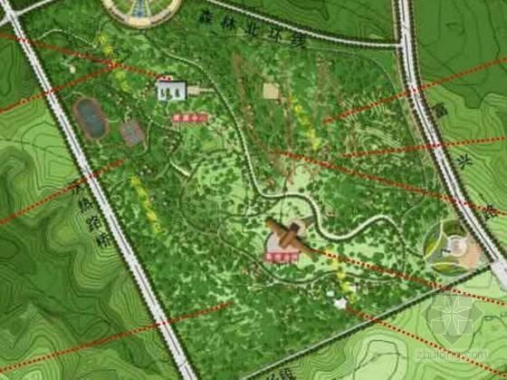 [鄂尔多斯]公园景观规划设计方案