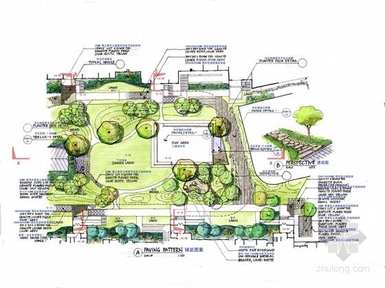 [四川]滨水花园住宅区景观规划设计