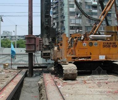 深基坑围护结构SMW工法桩设计与施工工艺