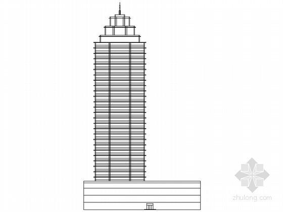某文化产业园三十一层办公楼建筑方案图