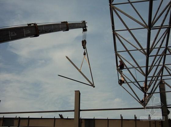 [广西]车辆段停车列检棚网架安装专项施工方案汇报