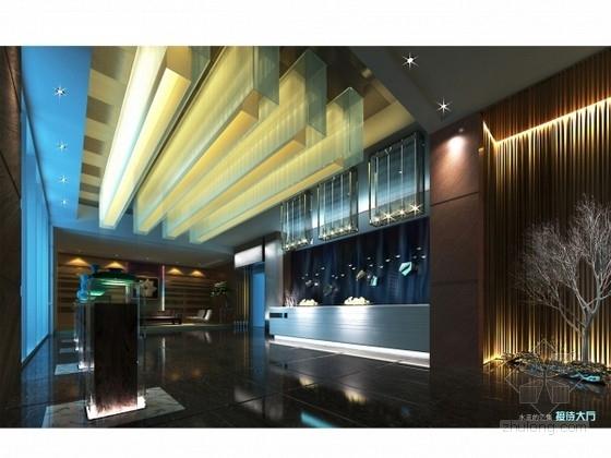 [毕业设计]某奢华现代主题西餐厅室内设计方案图