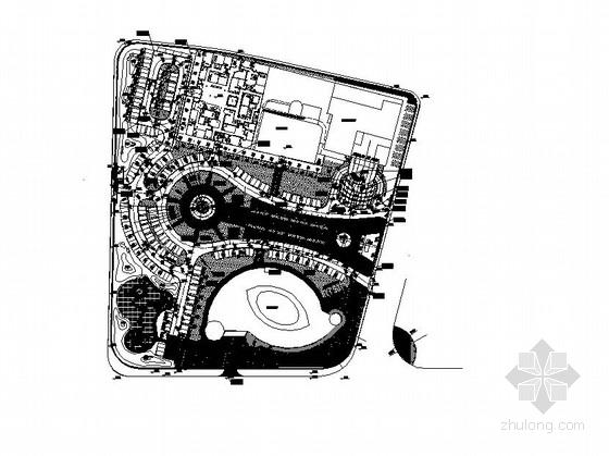 [山东]城市广场园林景观工程施工图