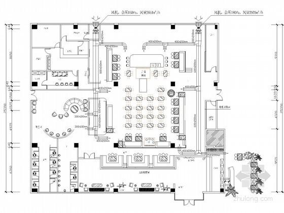 [云南]商业办公楼空调通风及防排烟系统设计施工图