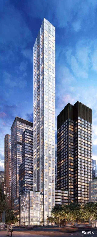 """万科在纽约开发的""""新地标住宅"""",高200米,1000-1600平方英尺的_2"""
