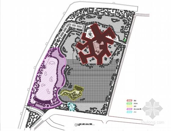 [河南]传统中式风格园林景观式酒店建筑设计方案文本-传统中式风格园林景观式酒店分析图