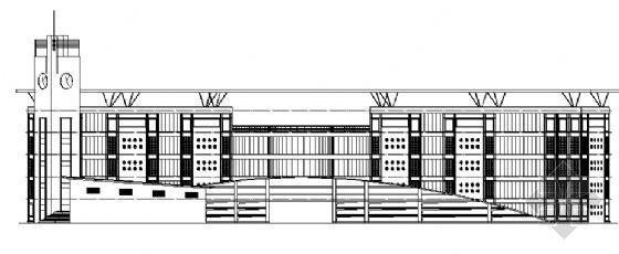 某交通学校五层教学楼建筑施工图纸