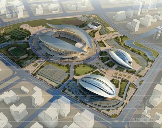 [广西]体育中心工程多场馆施工组织设计(240页 附图较多)