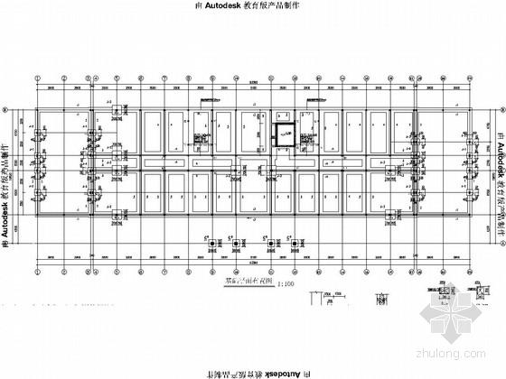 [老年公寓]四层砖混结构施工图(2014.7月出图)