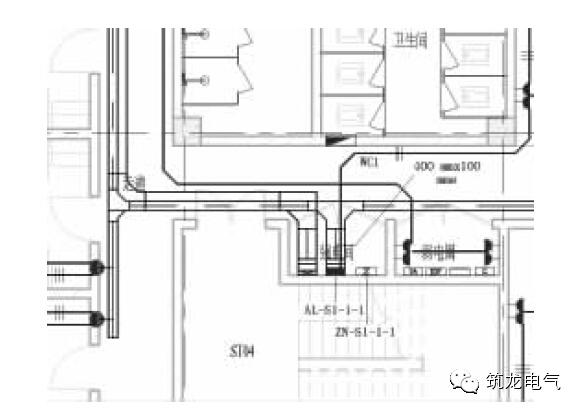 图4 电气干线采用电气桥架及电管布线.jpg