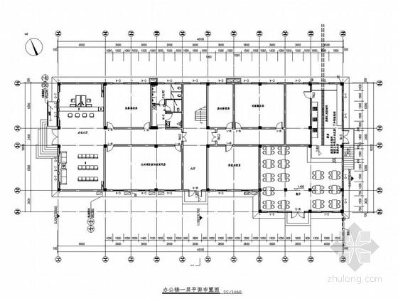 现代风格消防支队办公及营房设计概念方案