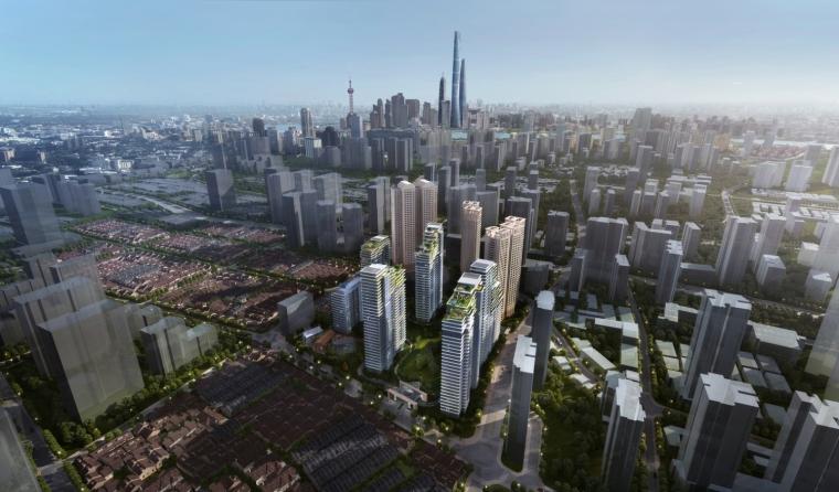 上海中信泰富集团大楼居民区的改造-1 (2)