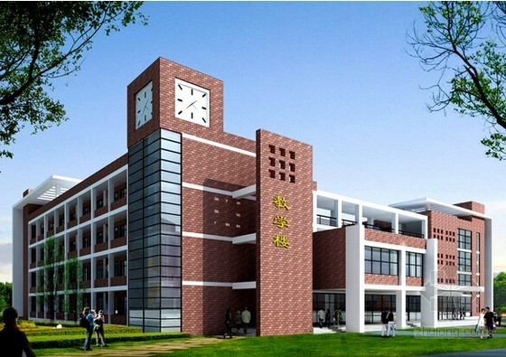 [上海]学校教学楼改造装饰工程投资估算实例(2015年8月)