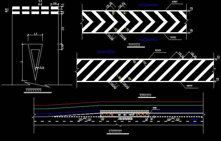 2016年红线宽60米城市快速路图纸全套816张(天桥通道桥U槽隧道,排水照明绿化交通电力)_18