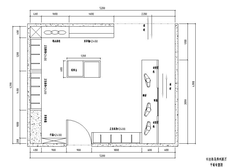 [河南]纤丝伯莉内衣店设计施工图(附3D模型+效果图)