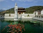 园林广场大型石雕菩萨的安装说明及注意事项