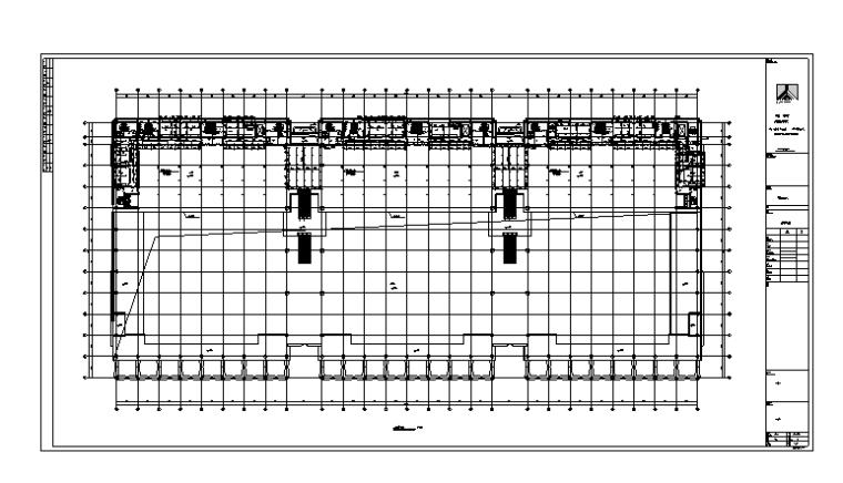 大型会展中心给排水全套图