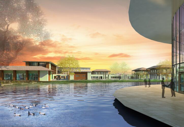 [浙江]嘉兴南湖金融小镇概念规划设计