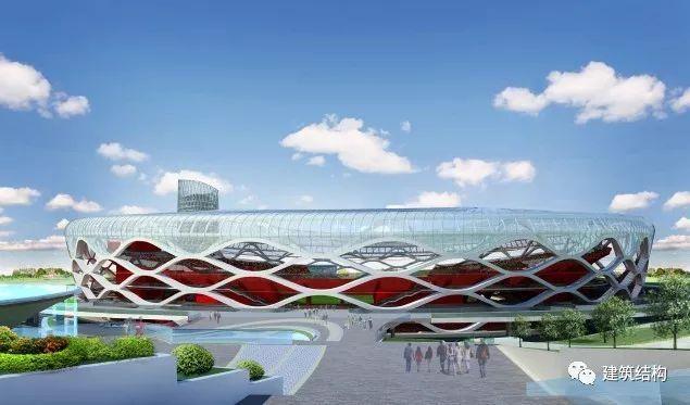 干货!全方位解析枣庄体育场索桁屋盖结构设计关键技术!