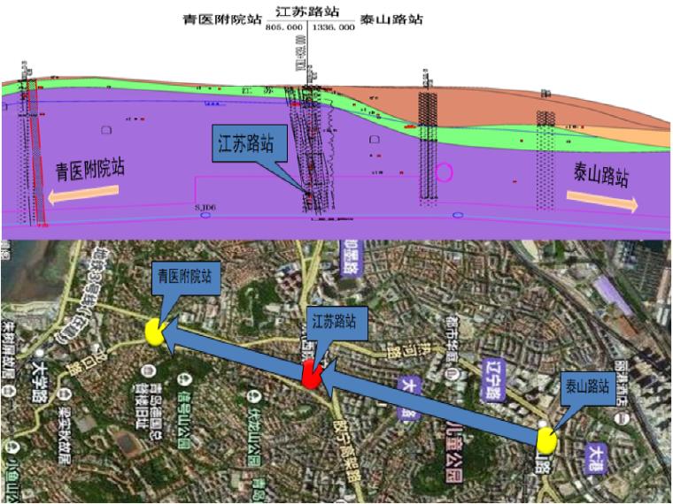 青岛地铁江苏路站初步设计汇报PPT