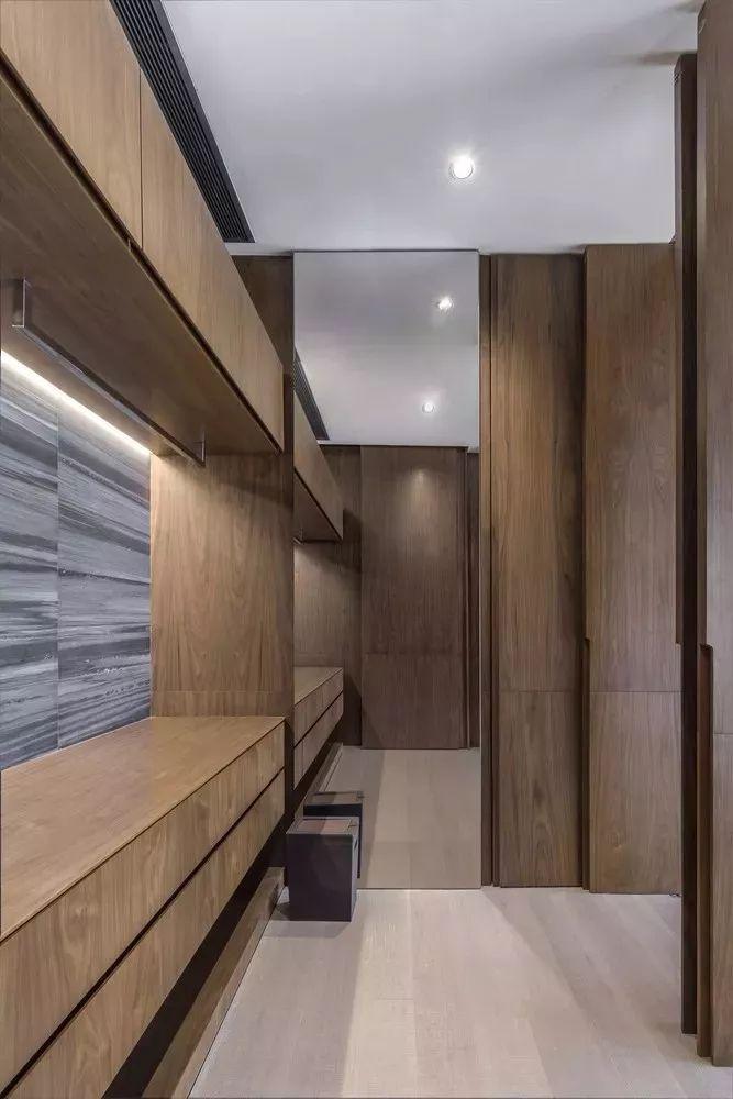 室内设计 130㎡的单身公寓,设计感十足_41