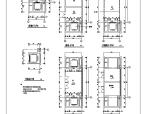 长106.8米宽70.7米八层37985平米大学图书馆建筑设计含详图