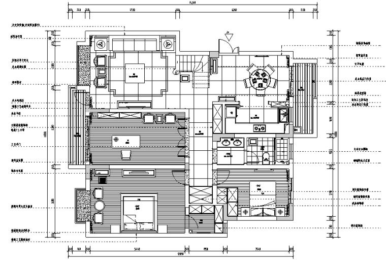 [江苏]新中式古典别墅设计案例(内附效果图)