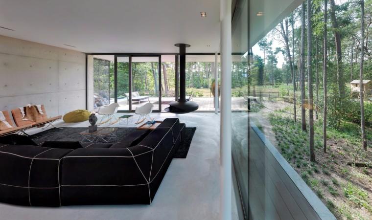 荷兰混凝土板组成的Zeist住宅-11